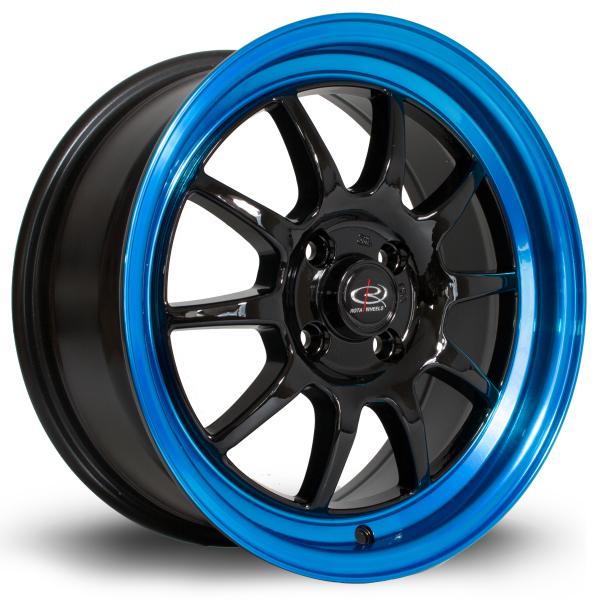 Rota GT3 BlackCBlueLip