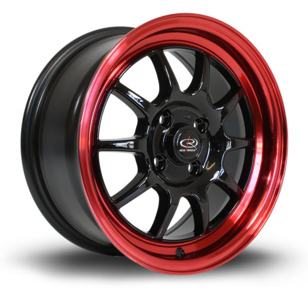 Rota GT3 BlackCRedLip