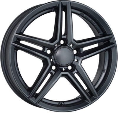 Rial uniwheels m10 Matt Black
