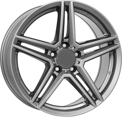 Rial uniwheels m10x Metal Grey
