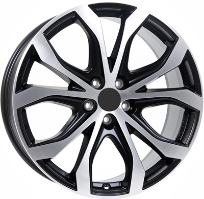 Rial uniwheels w10 Matt Black & Polished