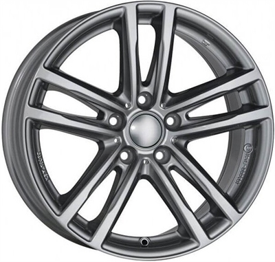 Rial uniwheels x10x Metal Grey