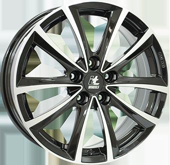 It wheels Iw elena Gloss Black / Polished