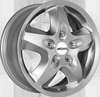 Ronal R44 Crystal Silver