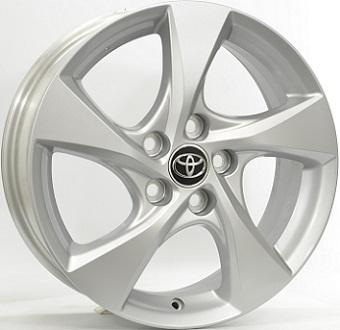 Original equipment Toyota Silver