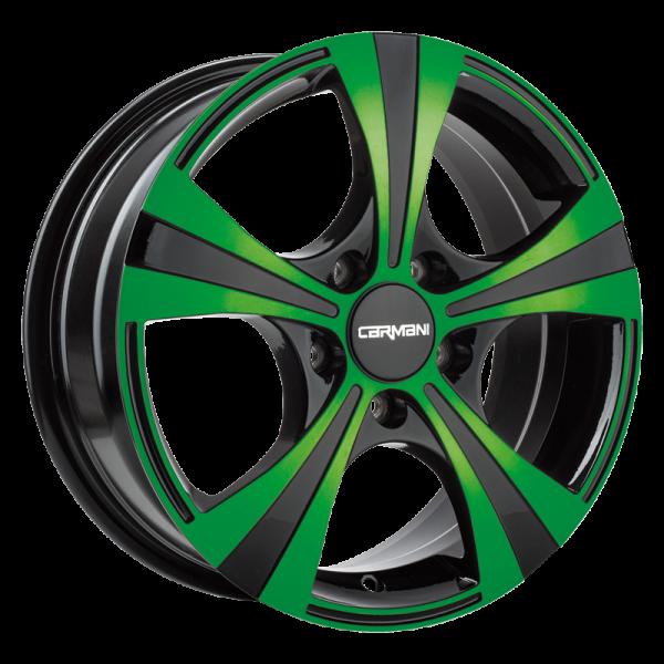 Carmani - neon green polish