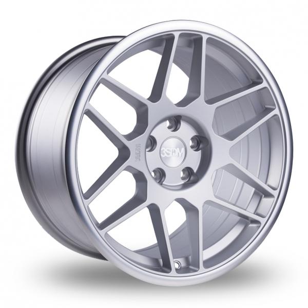 3SDM 0.09 Mat sølv/poleret