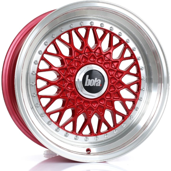 Bola TX09 CANDY RED POLISHED LIP