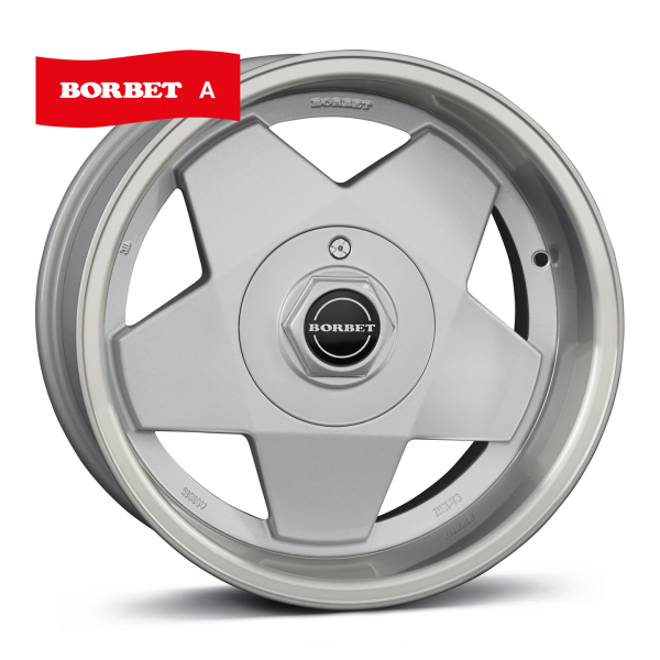 BORBET A Classic SILVER POLISHED