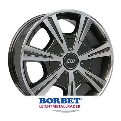 BORBET CH Antracite-Polished Anthracite Polished