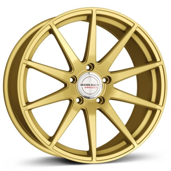 BORBET GTX Gold GOLD MATT