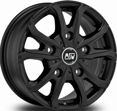 Msw 48 Van Black MATT BLACK