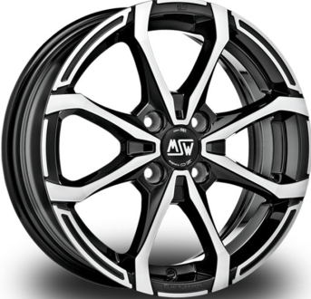 Msw X4 Black Polished GLOSS BLACK FULL POLISHED