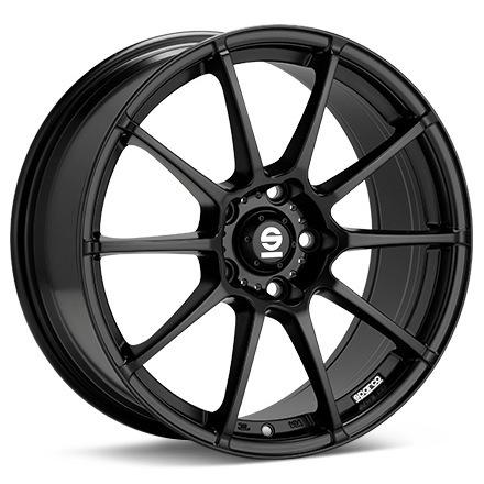 Sparco Assetto Gara Black MATT BLACK