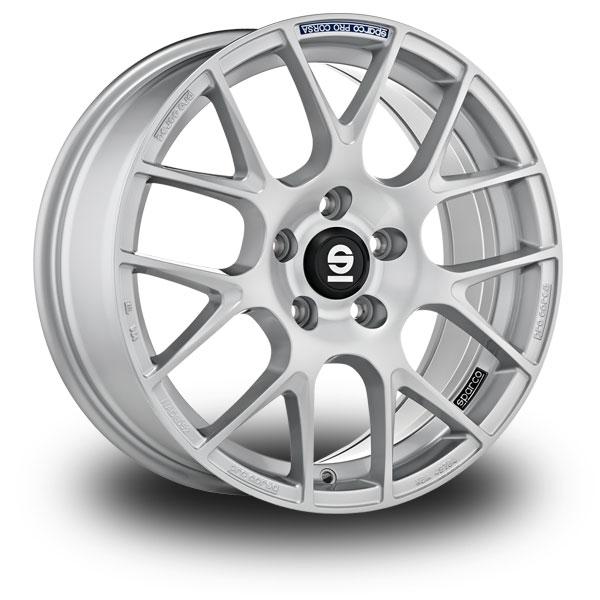 Sparco Pro Corsa Silver FULL SILVER