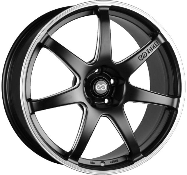 Enkei IZUMO (SC38) (EN03) matt black / polished (MBFP)