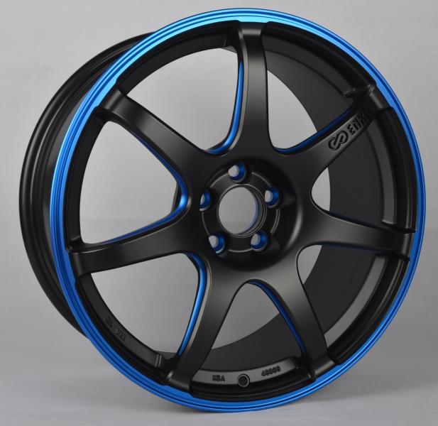 Enkei IZUMO BLUE (SC38) (EN03) MATT BLACK / BLUE ELOX (MBBL)