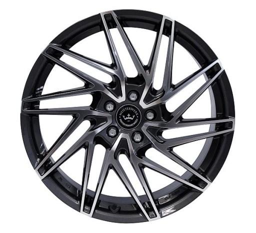 NB Wheels MW01 GMFP GUNMETAL / POLISHED (GMFP)