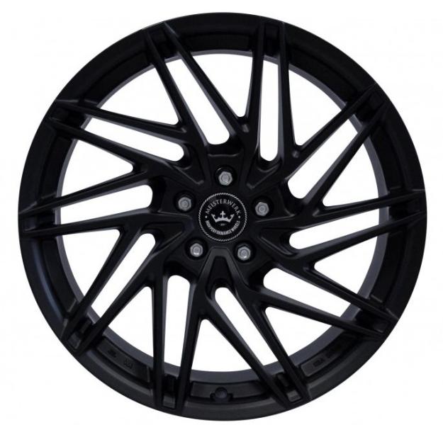 NB Wheels MW01 MB MATT BLACK (MB)