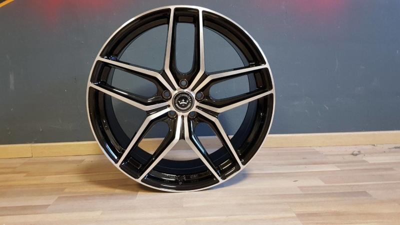NB Wheels MW02 BKF BLACK / POLISHED (BKF)