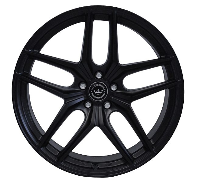 NB Wheels MW02 MB MATT BLACK (MB)