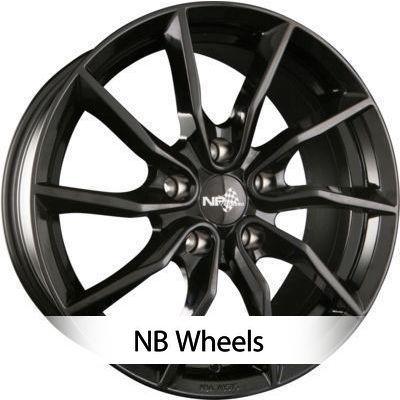 NB Wheels NB1 BLACK (ADV11) BLACK (GB)