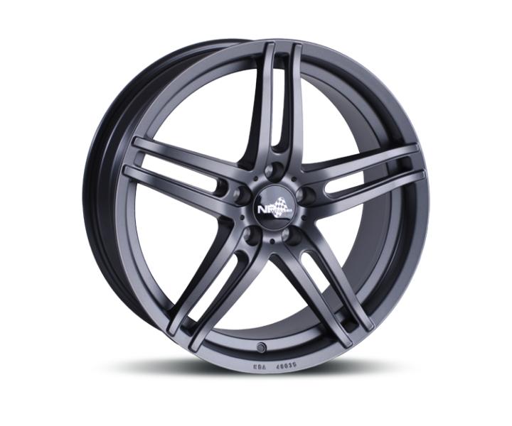 NB Wheels NB1 DARK (ADV11) MATT GUNMETAL (MGM)