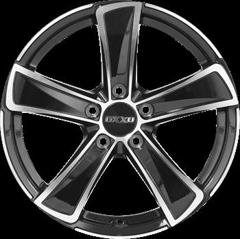 OXXO M KALLISTO BLACK (OX05) black / polished (GBFP)