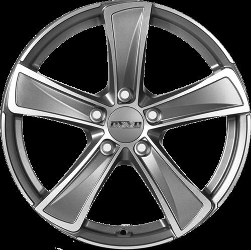 OXXO M KALLISTO DARK (OX05) matt gunmetal/polished (MGMFP)