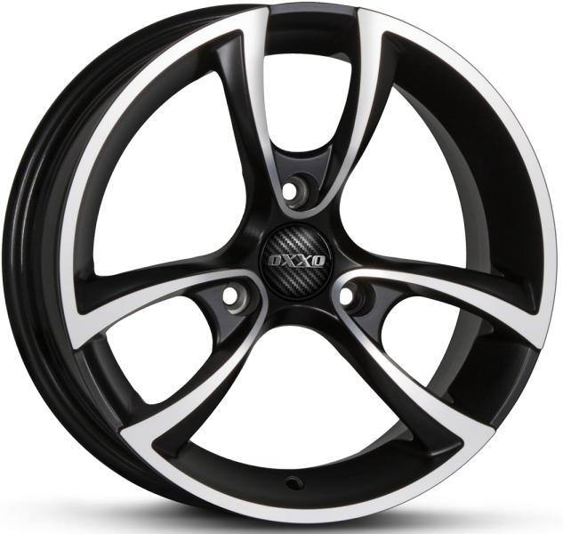 OXXO M TRIAS BLACK (RG18) matt black / polished (MBFP)