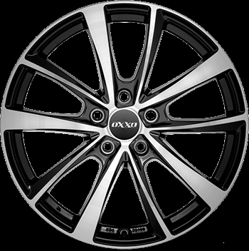 OXXO T VIDORRA BLACK (OX18) black / polished (BKF)