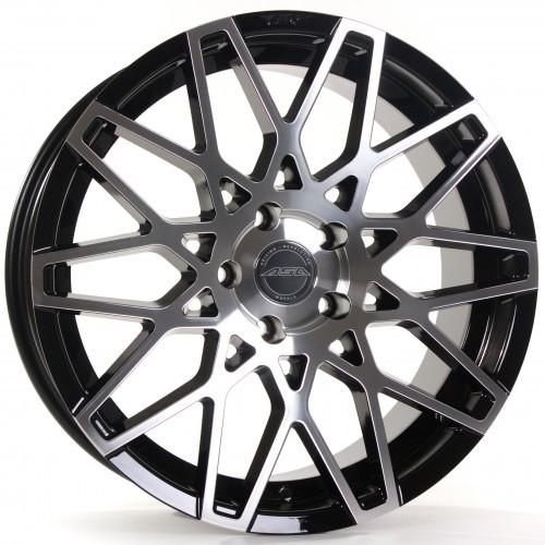 Asa GT4 schwarz-glanz-frontpoliert