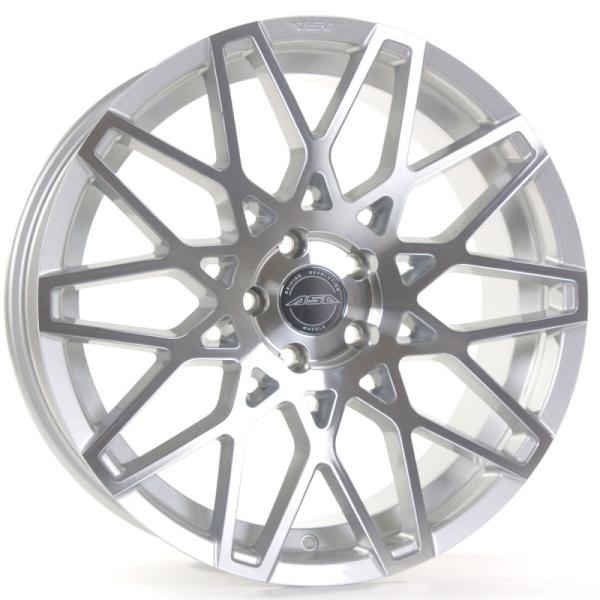 Asa GT4 silber-frontpoliert