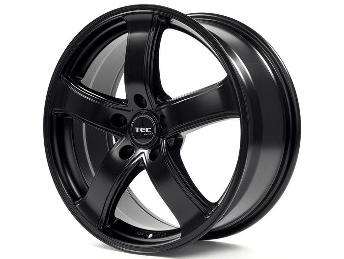 Tec-Speedwheels AS1 schwarz-seidenmatt