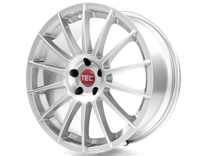 Tec-Speedwheels AS2 Kristall-Silber