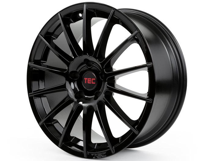 Tec-Speedwheels AS2 Schwarz-Glanz