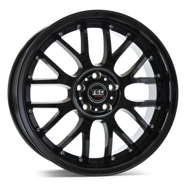 Tec-Speedwheels GT-AR1 Schwarz-Glanz