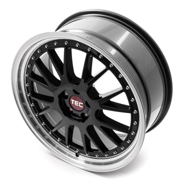 Tec-Speedwheels GT-EVO black-polished-lip