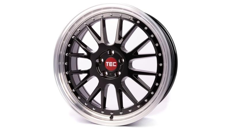 Tec-Speedwheels GT-EVO Schwarz-Glanz hornpoliert
