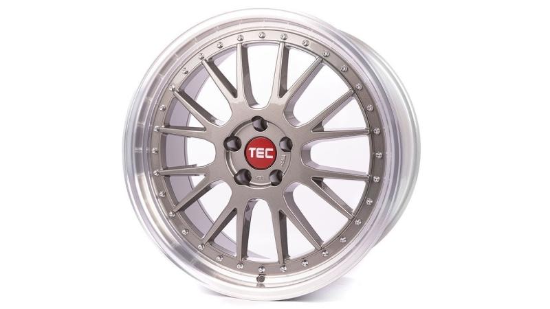 Tec-Speedwheels GT-EVO Titan-Glanz hornpoliert