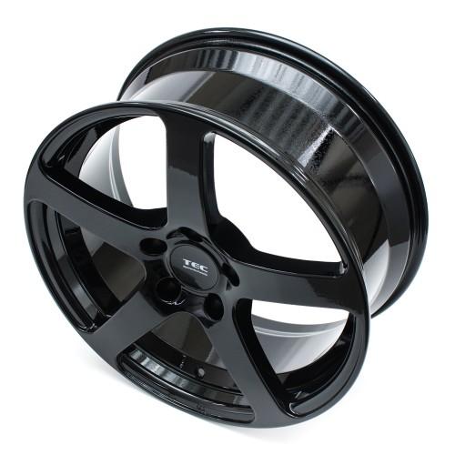 Tec-Speedwheels GT5 Schwarz-Glanz