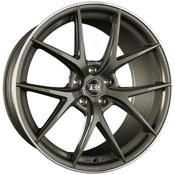 Tec-Speedwheels GT6 Anthrazit-Glanz hornpoliert