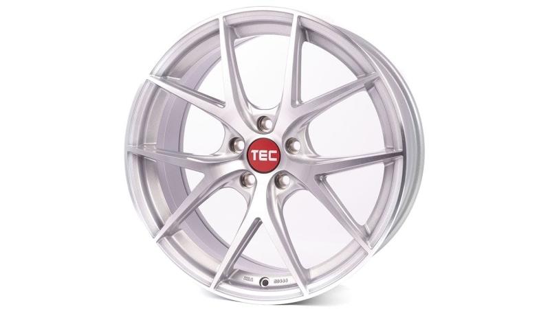 Tec-Speedwheels GT6-EVO Brillant-Silber frontpoliert