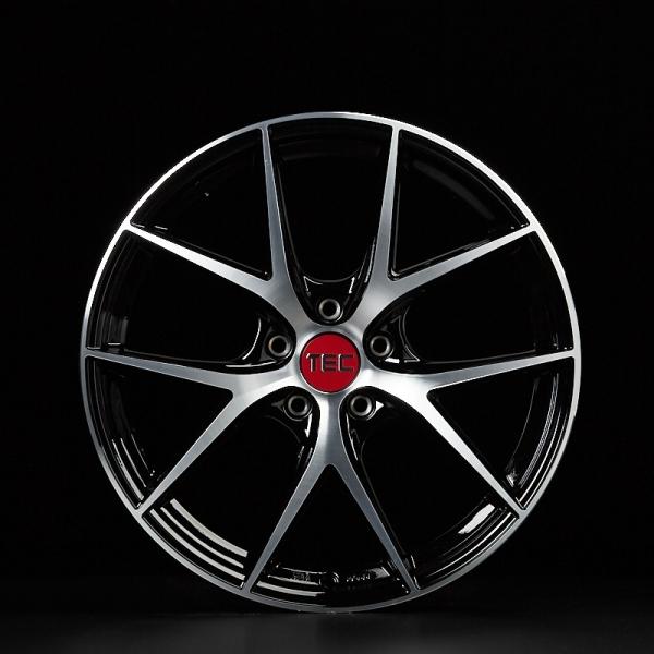 Tec-Speedwheels GT6-EVO Schwarz-Glanz frontpoliert