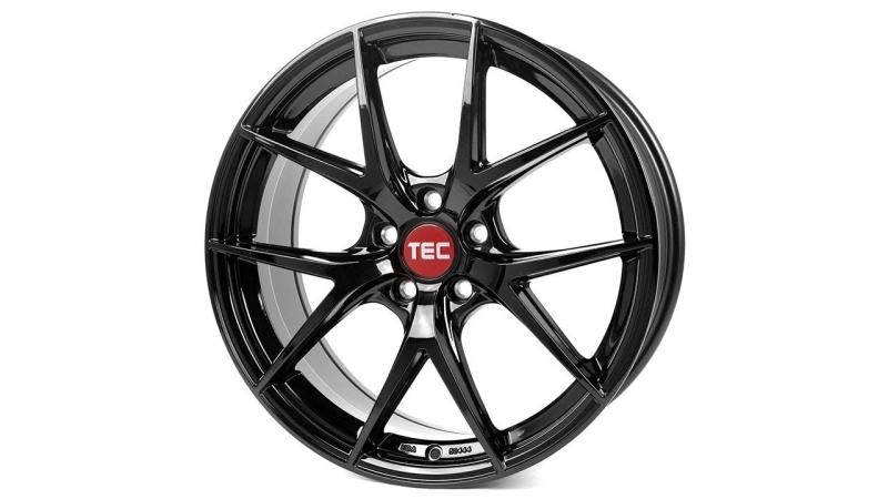 Tec-Speedwheels GT6-EVO Schwarz-Glanz