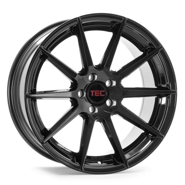Tec-Speedwheels GT7 Schwarz-Glanz