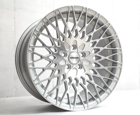 Veemann VC540 Silver Machined