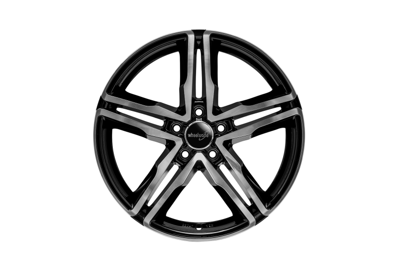Wheelworld WH11 black full machined