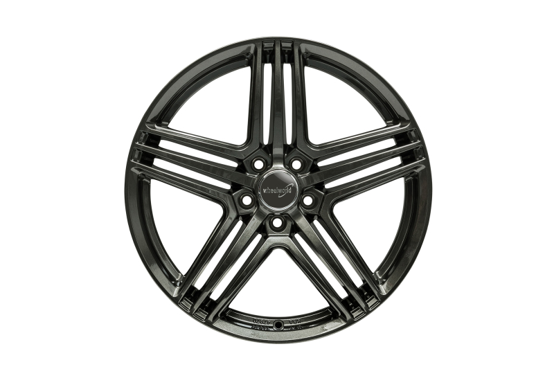 Wheelworld WH12 Dark gunmetal full painted