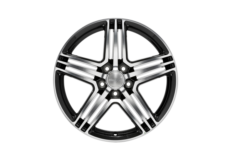 Wheelworld WH12 black full machined